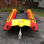 Gemini F-1 for sale, used, recue model, red, yellow