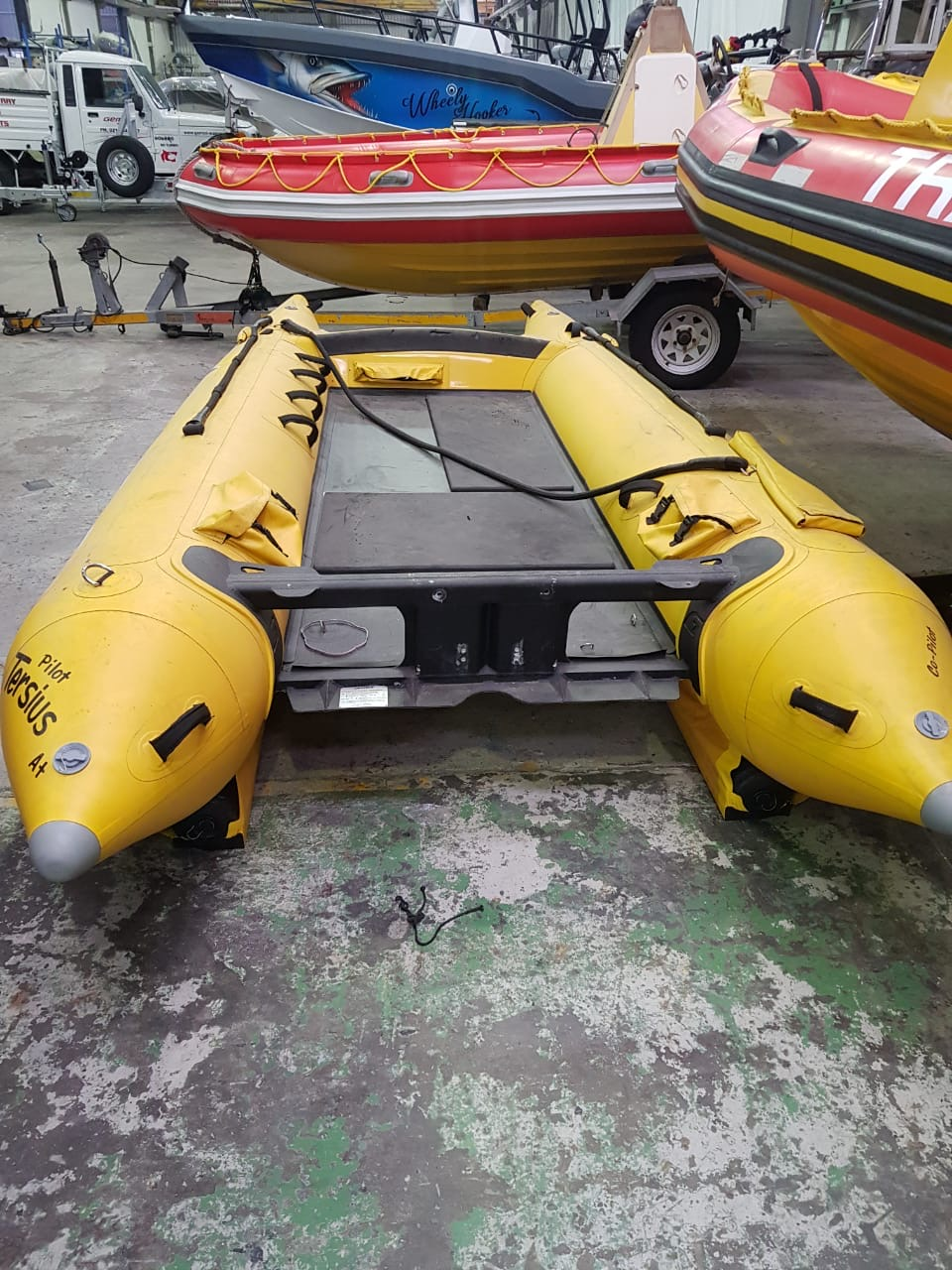 Used Gemini Zapcat F-1 for sale by IBR.US, yellow, 20 hours, pre-owned