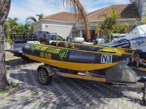 Used Thundercat for sale. Infanta P-1, 2018, Black/Yellow